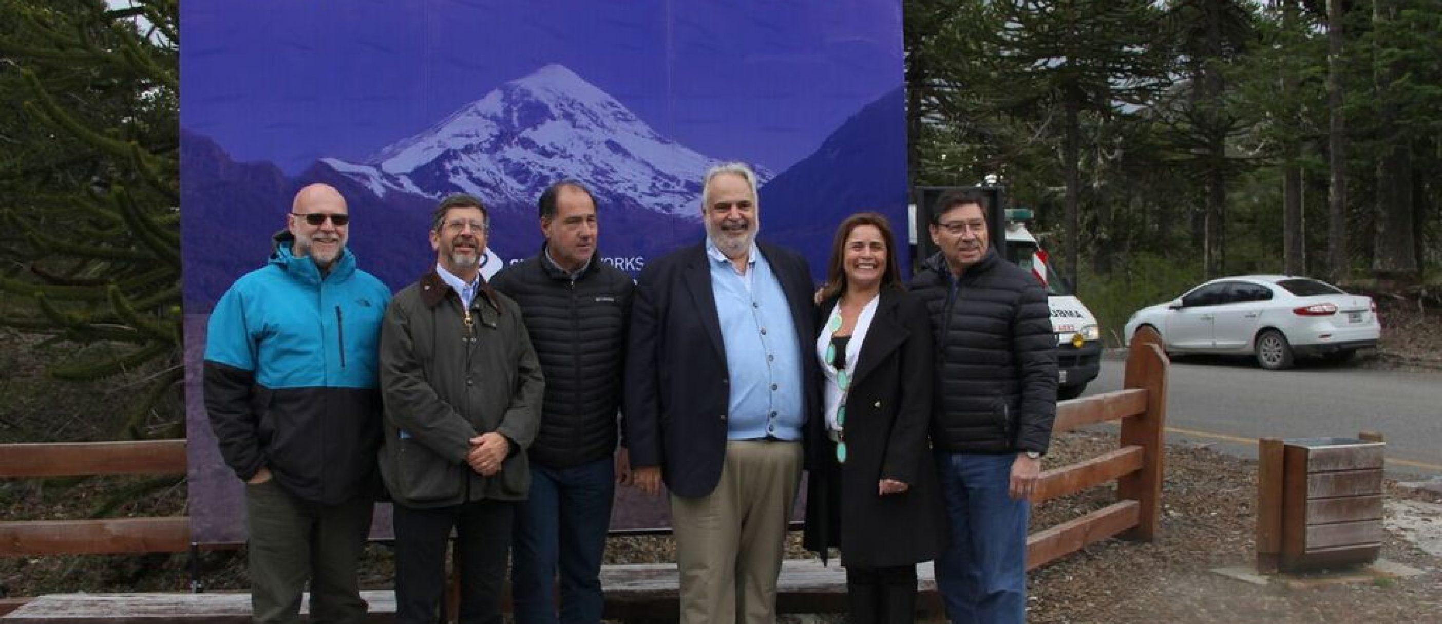 Inauguración del tramo Humboldt de la fibra óptica de Silica